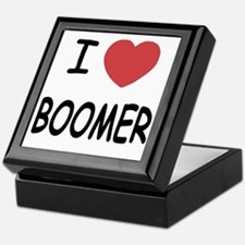 I heart BOOMER Keepsake Box