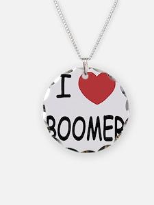 I heart BOOMER Necklace
