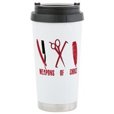 Barber Red Tools of the Trade D Travel Mug