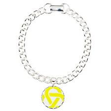 Celtic_Knot_Yellow Charm Bracelet, One Charm