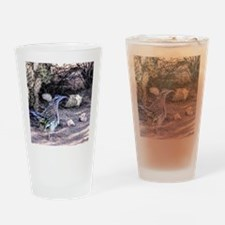 Desert Roadrunner Drinking Glass