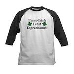 Irish Shit Leprechauns Kids Baseball Jersey