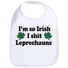 Irish Shit Leprechauns Bib