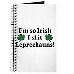 Irish Shit Leprechauns Journal