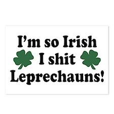 Irish Shit Leprechauns Postcards (Package of 8)