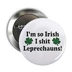 Irish Shit Leprechauns Button