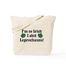 Irish Shit Leprechauns Tote Bag