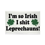 Irish Shit Leprechauns Rectangle Magnet