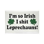Irish Shit Leprechauns Rectangle Magnet (10 pack)