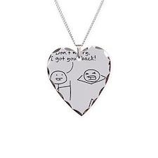 I got your back Necklace
