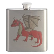 Red dragon Flask