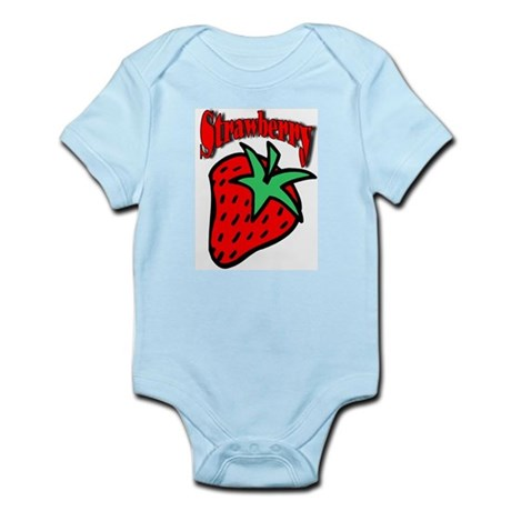Strawberry Infant Creeper