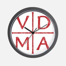 Reformation Cross National Red Wall Clock