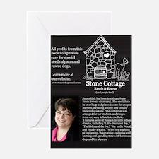 Back - Harp for Christmas Greeting Card