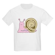 Mrs. Snail Kids T-Shirt