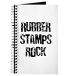 Rubber Stamps Rock Journal