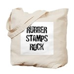 Rubber Stamps Rock Tote Bag