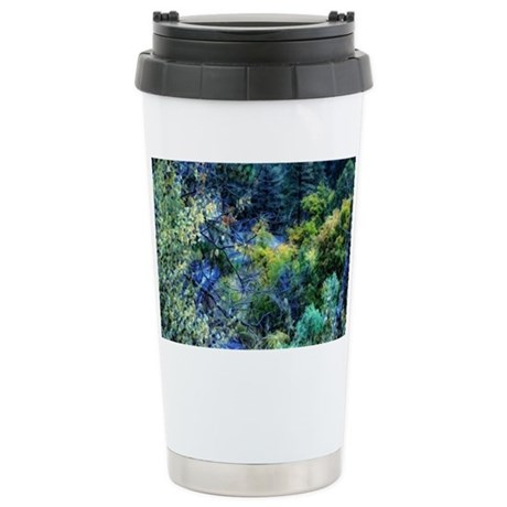 Seen Through the Trees Stainless Steel Travel Mug