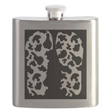Cow Print Flask