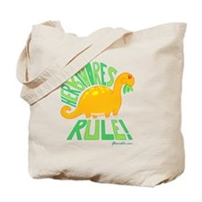 GSHerbivoreLarge Tote Bag