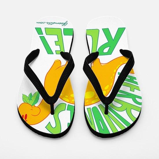 GSHerbivoreLarge Flip Flops