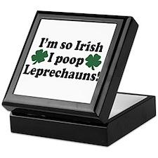 Irish Poop Leprechauns Keepsake Box