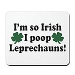 Irish Poop Leprechauns Mousepad