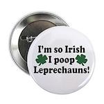 Irish Poop Leprechauns Button