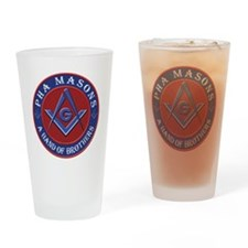 Prince Hall Masons. A band of broth Drinking Glass