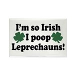 Irish Poop Leprechauns Rectangle Magnet (10 pack)