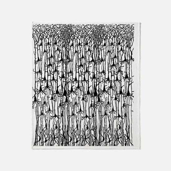 Neurons Throw Blanket