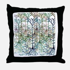More Neurons Throw Pillow