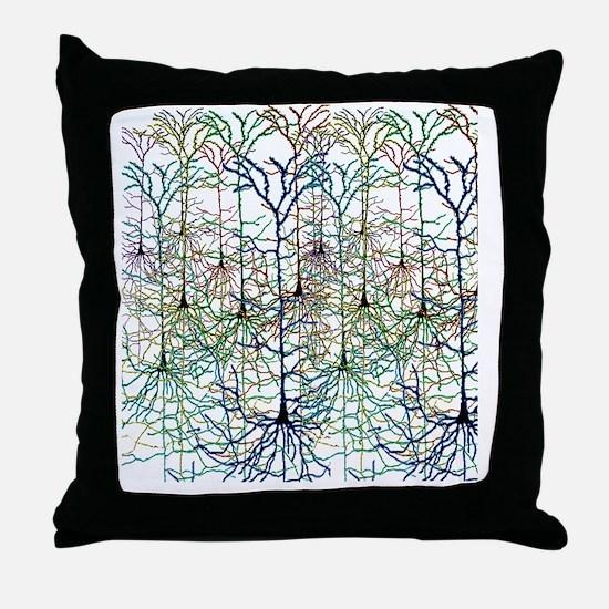 More Neurons Throw Pillow