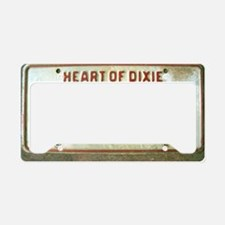 Heart of Dixie Alabama Car Ta License Plate Holder