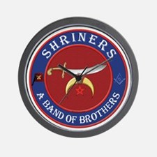 SRHINERS - A Band of Brothers Wall Clock