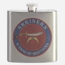 SRHINERS - A Band of Brothers Flask
