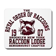Royal Order of Raccoons Mousepad