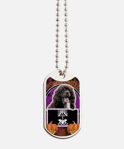 Halloween - Just a Lil Spooky - Cocker Sp Dog Tags