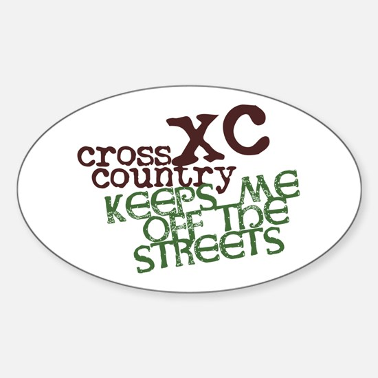 XC Keeps off Streets © Decal