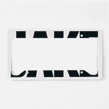 Jake Break logo2 License Plate Holder