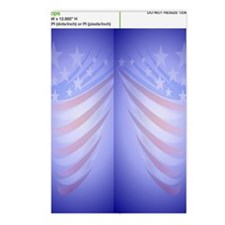 FlipFlop Faded Flag Postcards (Package of 8)