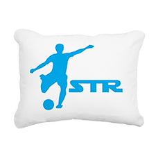 STR logo Rectangular Canvas Pillow