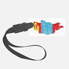 Mongolia Luggage Tag