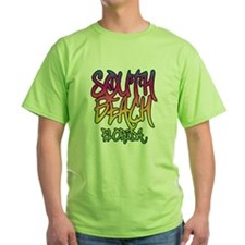 South Beach Graffiti B T-Shirt