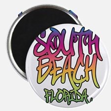 South Beach Graffiti B Magnet