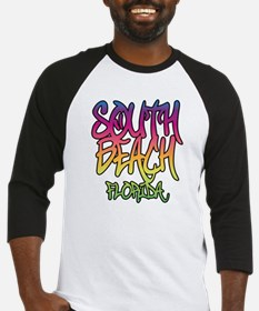 South Beach Graffiti B Baseball Jersey