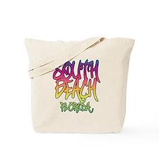 South Beach Graffiti B Tote Bag