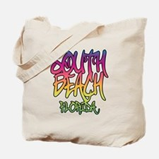 South Beach Graffiti B Tote Bag