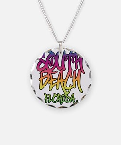 South Beach Graffiti B Necklace