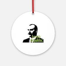 Irish Republic - James Connoly Round Ornament